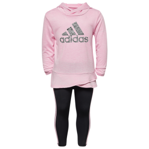 adidas Hoodie and Tight Set - Girls' Infant