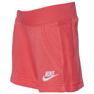 Nike Lightweight French Terry Shorts - Girls' Preschool