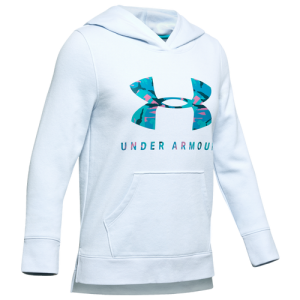 Under Armour Rival Print Fill Logo Hoodie - Girls' Grade School