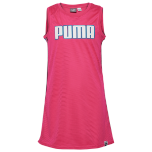 PUMA Mesh Taped Tank Dress - Girls' Grade School