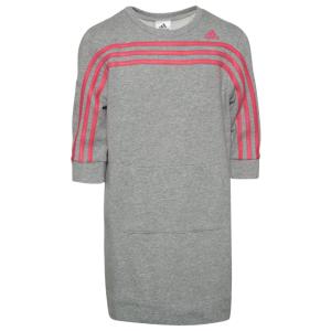adidas 3 Stripe Dress - Girls' Grade School