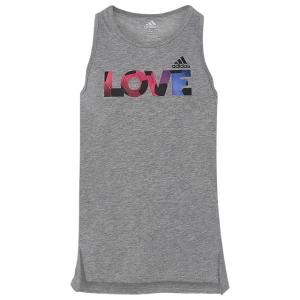 adidas Graphic Love Tank - Girls' Grade School