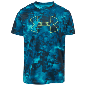 Under Armour Printed Big Logo T-Shirt - Boys' Grade School
