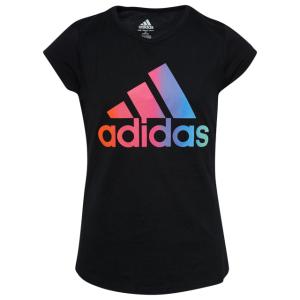 adidas Rainbow Gradient T-Shirt - Girls' Grade School