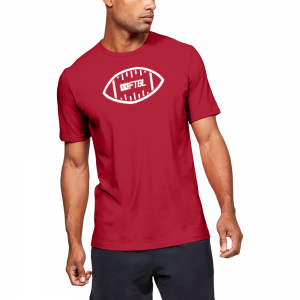 Under Armour FTBL Ball T-Shirt - Mens
