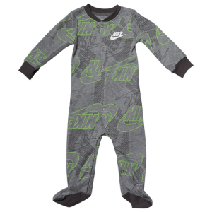 Nike Futura All Over Print Footed Coverall - Boys' Infant