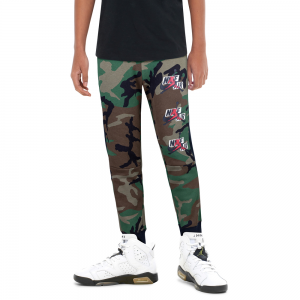 Jordan Jumpman Classics III Camo Fleece Pants - Boys Grade School