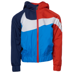 Nike Oversized Swoosh Windrunner - Boys' Preschool