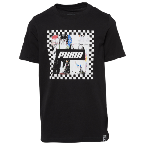 PUMA Rebel Check Graphic T-Shirt - Boys' Grade School