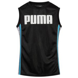 PUMA Stryk Stripe Muscle Tank - Boys' Grade School