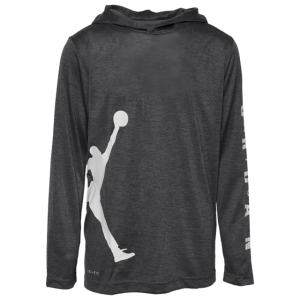 Jordan Vert Hooded Long Sleeve Top - Boys' Grade School
