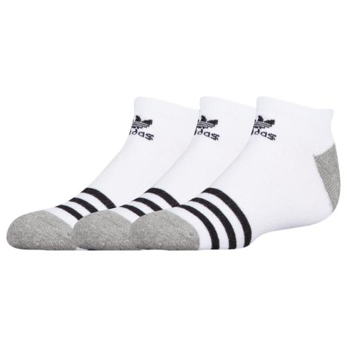 adidas Originals Roller 3-Pack No Show Socks - Boys' Grade School