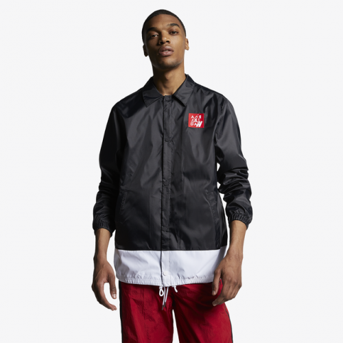 Jordan Retro 4 Coaches Jacket - Men's