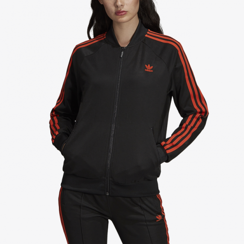 adidas Originals Cut-Out Superstar Track Jacket - Women's