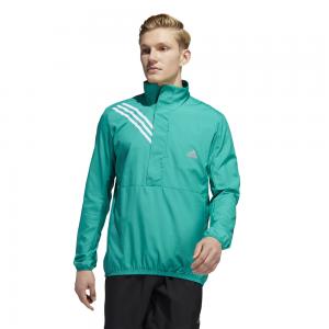 adidas Run It Anorak 3 Stripe Jacket - Mens