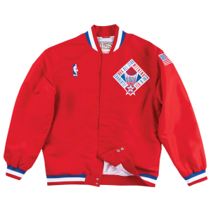 Mitchell & Ness NBA Authentic Warm-Up Jacket - Men's