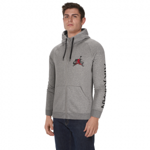 Jordan Jumpman Classic Full-Zip Hoodie - Men's