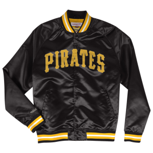 Mitchell & Ness MLB Lightweight Satin Jacket - Men's