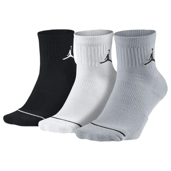 Jordan Jumpman Quarter 3 Pack Socks