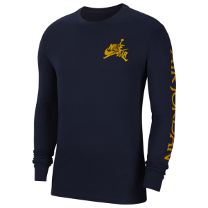 Jordan Classics Long Sleeve Crew T-Shirt - Men's