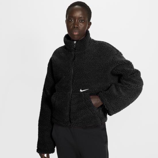 Nike NSW Swoosh Jacket Sherpa - Womens