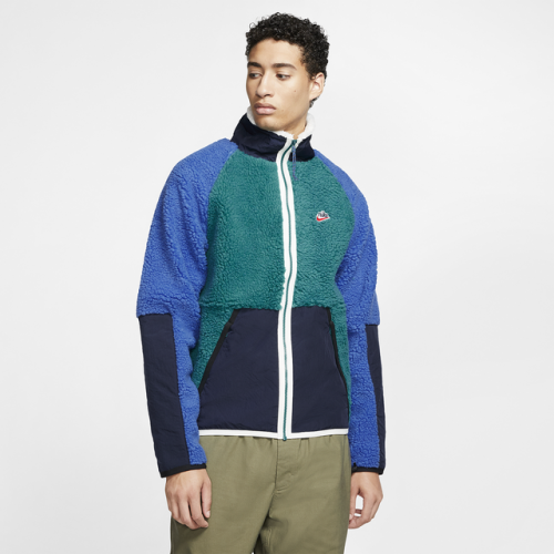 Nike Heritage Essentials Sherpa Jacket - Men's