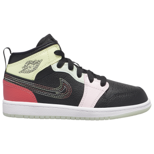 Jordan AJ 1 Mid - Girls' Preschool