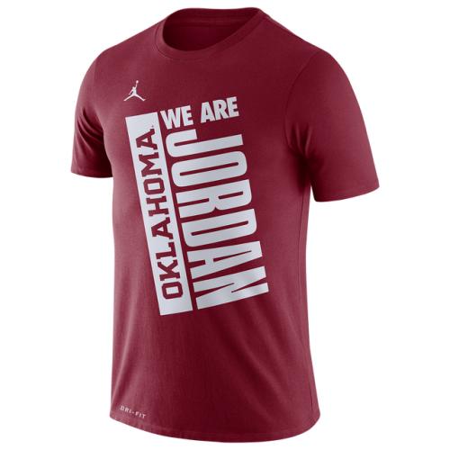 Jordan College Team Just Do It T-Shirt - Men's