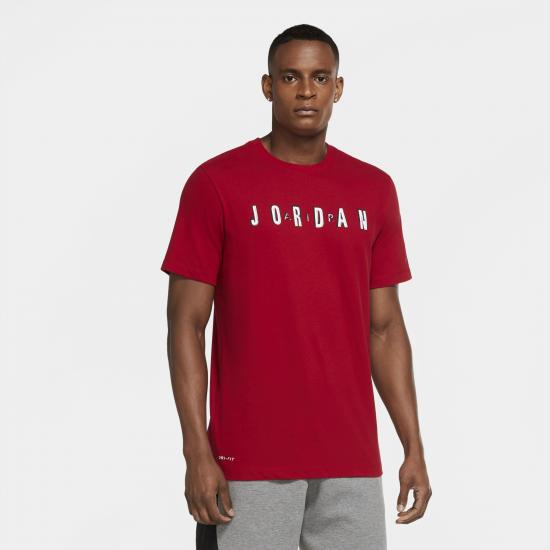 Jordan Dri-Fit Cotton Air Performance Retro T-Shirt - Mens
