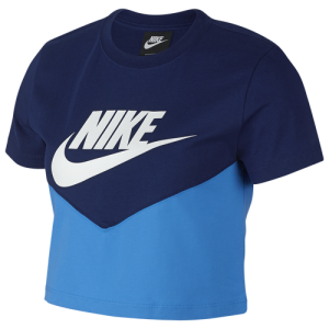 Nike Heritage Crop T-Shirt - Women's