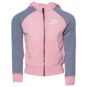 Nike Gym Vintage Full-Zip Hoodie - Girls' Toddler
