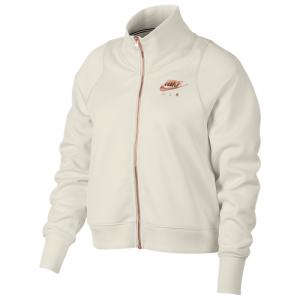 Nike Rose Gold Metallic Air Track Jacket - Women's