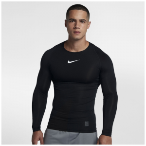 Nike Pro Compression Long Sleeve Top - Men's