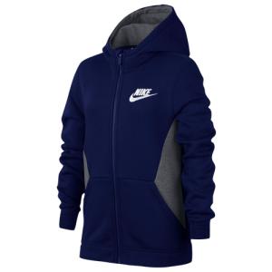 Nike Club Full-Zip Hoodie - Boys' Grade School