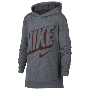 Nike Lightweight Breathe Hooded Top - Boys' Grade School