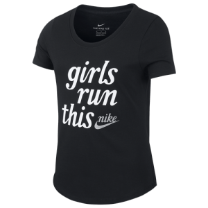 Nike Girls Run This T-Shirt - Girls' Grade School