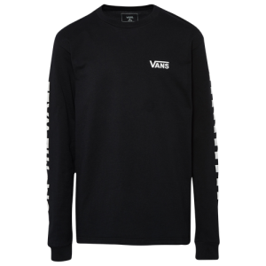 Vans Left Check Long-Sleeve T-shirt - Boys' Grade School