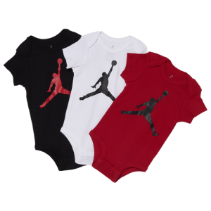 Jordan Jumpman Bodysuit 3 Pack - Boys' Infant