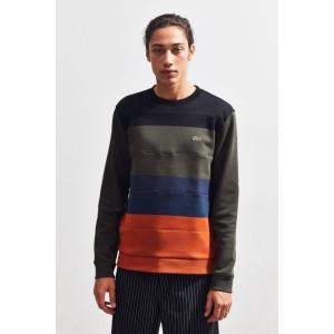 Lacoste Colorblock Crew-Neck Sweatshirt