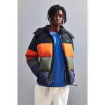 Lacoste Classic Funnel Neck Puffer Jacket