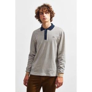 Lacoste LIVE Interlocked Long Sleeve Polo Shirt