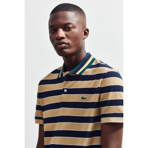 Lacoste Striped Pique Polo Shirt