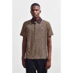 Lacoste Leopard Print Polo Shirt