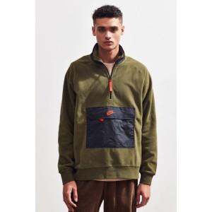 Nike Half-Zip Colorblock Fleece Sweatshirt