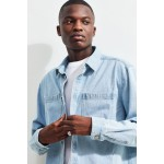BDG Long Sleeve Denim Button-Down Shirt