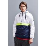 Tommy Jeans Colorblock Half-Zip Windbreaker Jacket