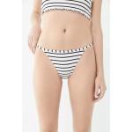 TWIIN Tommy Striped Tanga Bikini Bottom