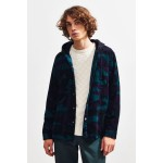 UO Hooded Corduroy Overshirt