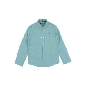 TOMMY HILFIGER - Solid color shirt