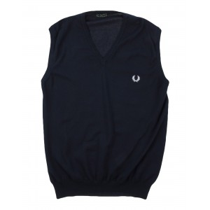 FRED PERRY - Sleeveless sweater